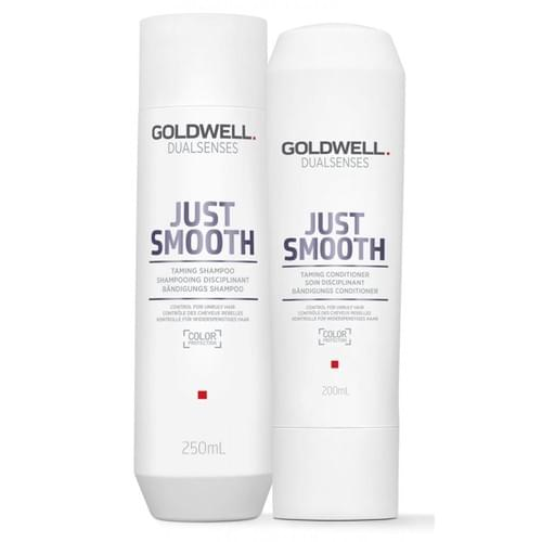 Goldwell Dualsenses Just Smooth Taming Shampoo & Conditioner Set