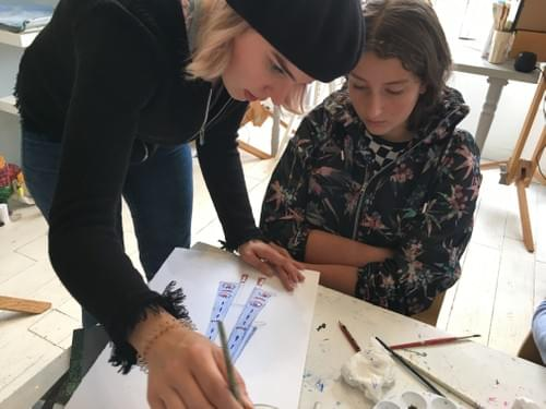 Child Art Classes : Spring Term Child Course | 10 Weeks January 11th 2021