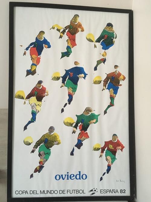 Affiche coupe du monde 1982