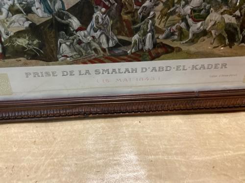 "Gravure ""Prise de la smalah D'Hab El Kader"""