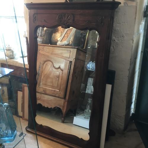 Miroir ancien en chêne