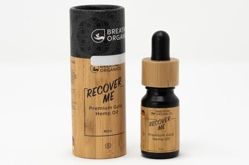 "Öl ""RECOVER ME PREMIUM GOLD - 5%"" - Breath Organics"