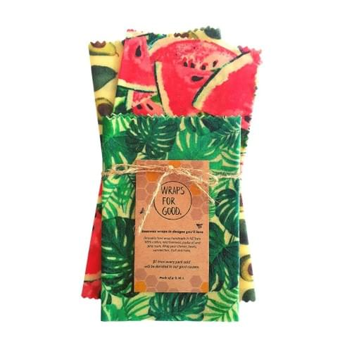 Beeswax Wraps 3pack - Mixed