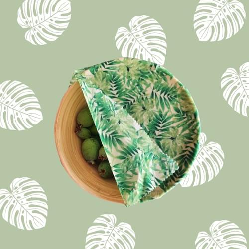 Beeswax Wraps 3pack - Foliage
