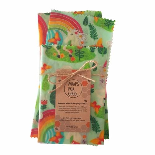 Beeswax Wraps 3pack - Magicland - SALE
