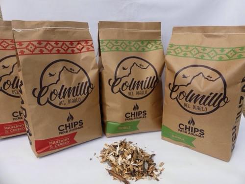 Chips para Ahumar Colmillo del diablo