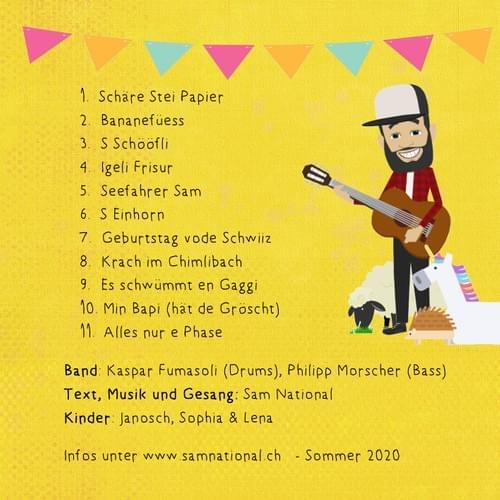 """Kinder-CD """"Schäre Stei Papier"""""""