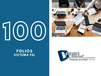 100 Folios Para Sistema FEL