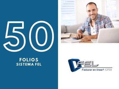 50 Folios para Sistema FEL