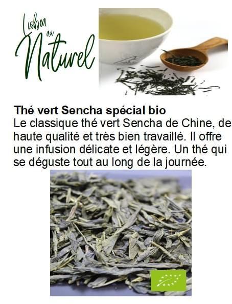 Thé vert Sencha spécial bio (50gr - 100gr)