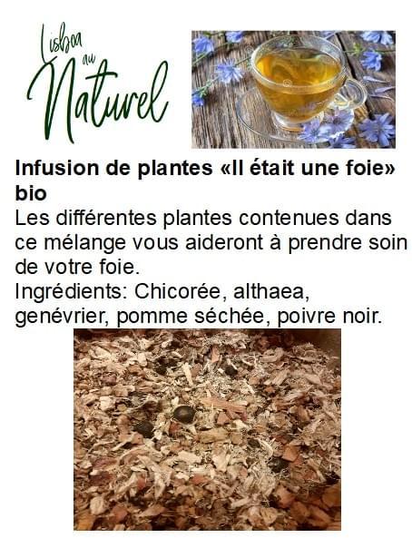 Infusion de plantes bio «Il était une foie» (50gr - 100gr)