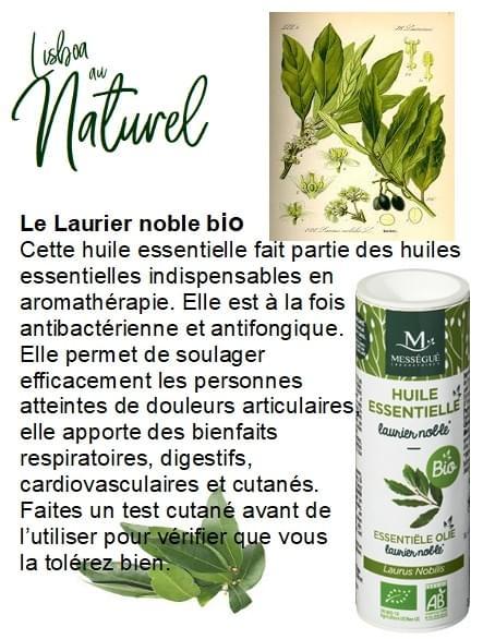Laurier noble bio, 10 ml