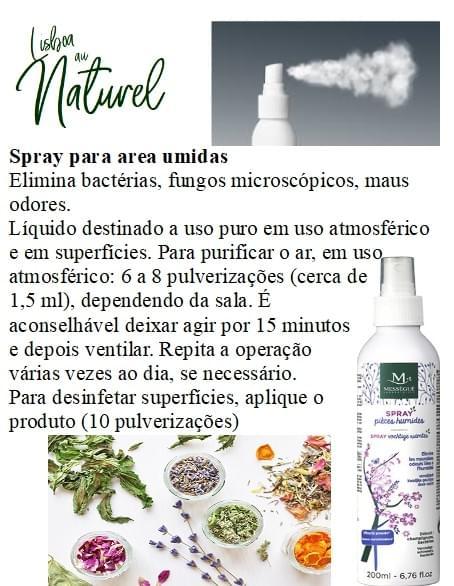 Spray para área húmidas, 200 ml