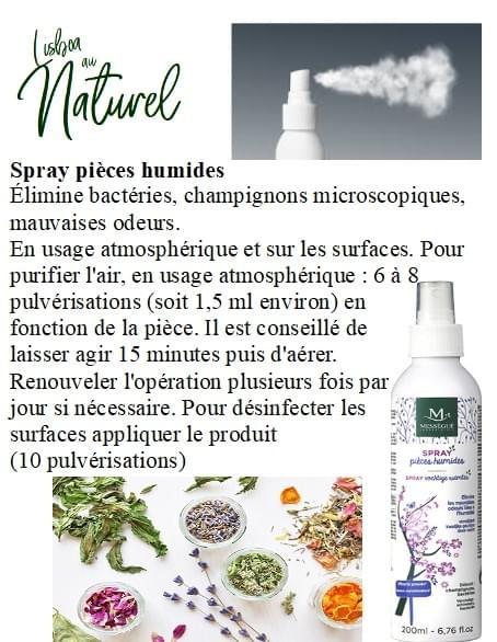 Spray pour pièces humides, 200 ml