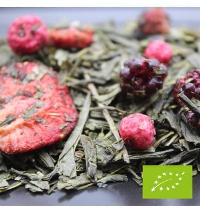 Chá verde bagas da floresta bio  (50gr - 100gr)
