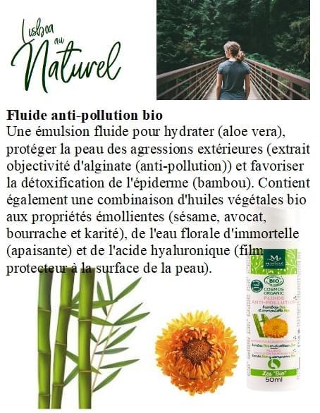 Fluide anti-pollution bio, 50 ml