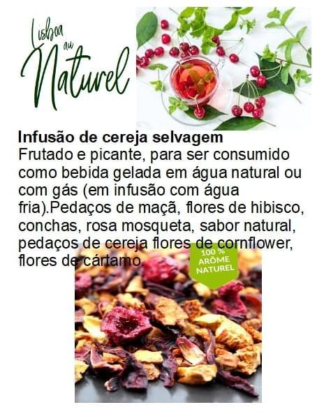 Infusão de cereja selvagem (50gr - 100gr)