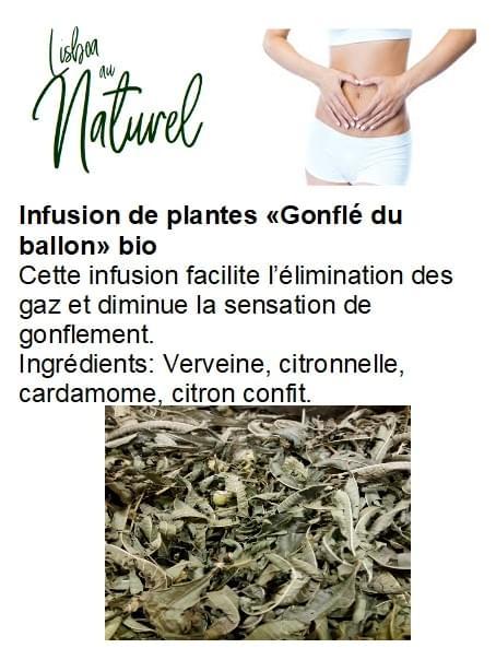 Infusion de plantes bio «Gonflé du ballon» (50 - 100 gr)