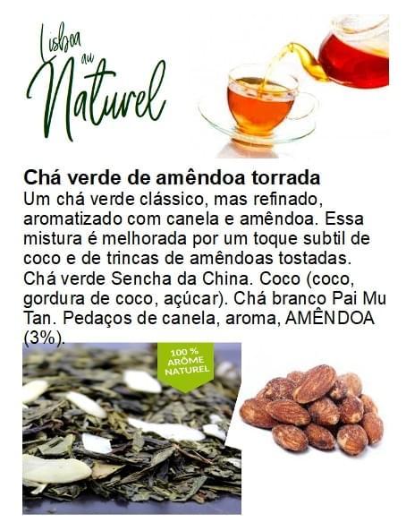 Chá verde de amêndoa torrada (50gr - 100gr)