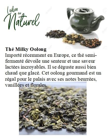 Thé Milky Oolong (50gr - 100gr)