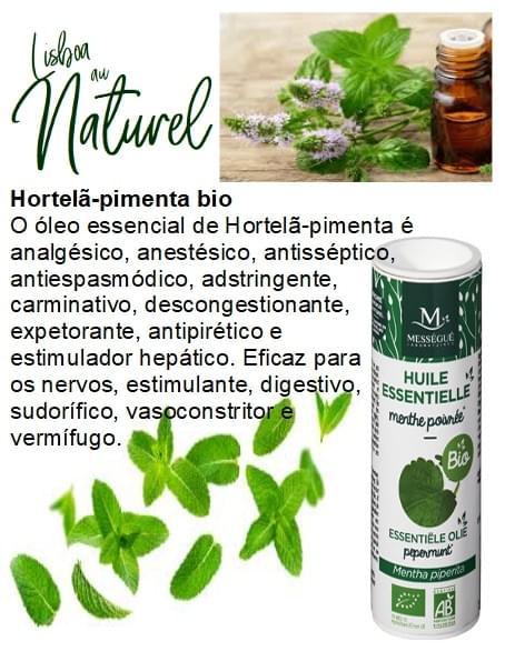 Hortelã-pimenta bio, 10 ml