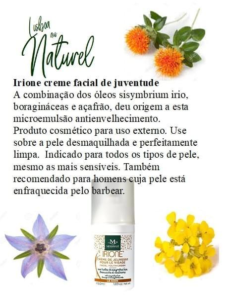 Creme facial de juventude - IRIONE, 50 ml