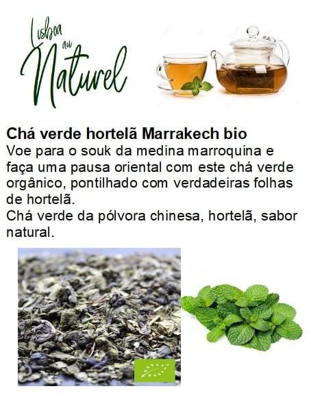 Chá verde hortelã Marrakech (50gr - 100gr)