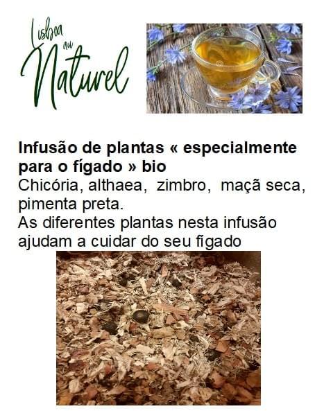 Infusão de plantas bio «especialmente para o fígado» (50gr - 100gr)