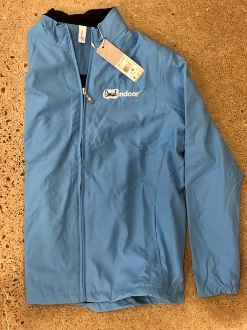 Ashworth Apparel | Women's Baby Blue Windbreaker (LIMITED STOCK!)