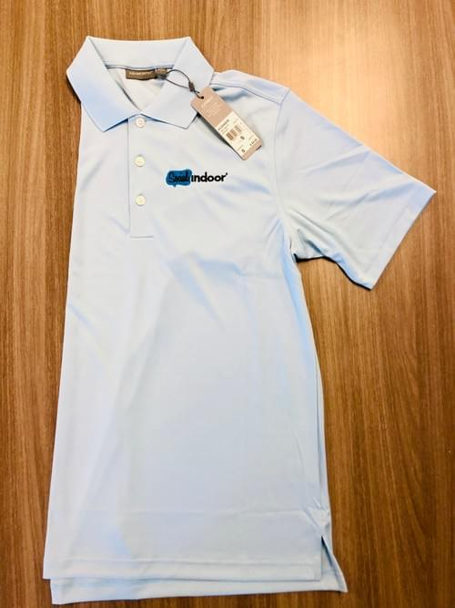 Ashworth Apparel | Women's Baby Blue Athletic Polo (SMALLS ONLY!)
