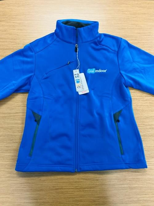 North End Sport | Women's Cobalt Blue w/ Grey Accent Full Zip Up Jacket