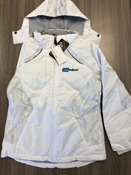 North End Sport | Women's White Insulated Winter Coat