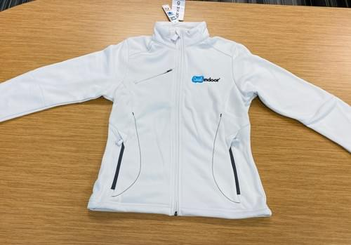 North End Sport | Women's White Zip Up Jacket (XS, S, & M)