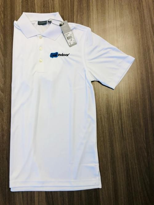 Ashworth Apparel | Women's White Athletic Polo (SMALLS ONLY!)