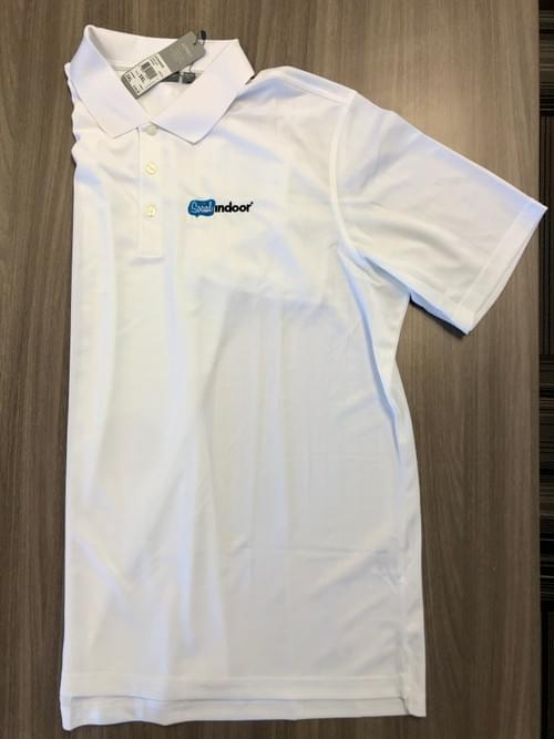 Ashworth Apparel | Men's White Polo (LOW IN STOCK)