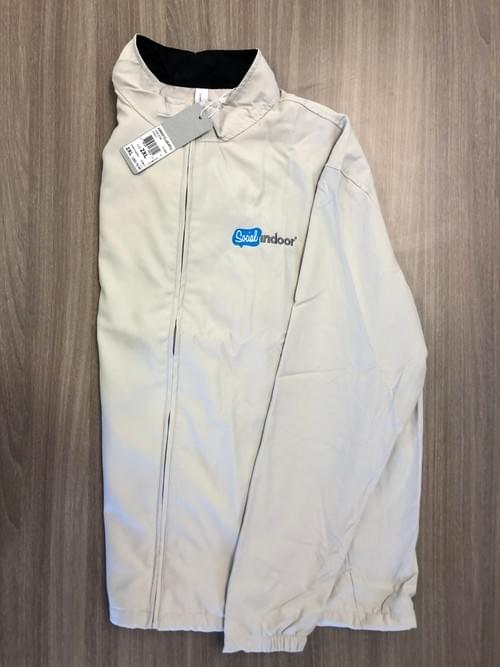 Ashworth Apparel |  Light Grey/ Tan Full Zip Up Jacket (RE-STOCKED!)