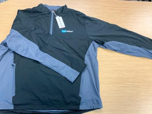 North End Sport | Men's Black & Grey Windbreaker