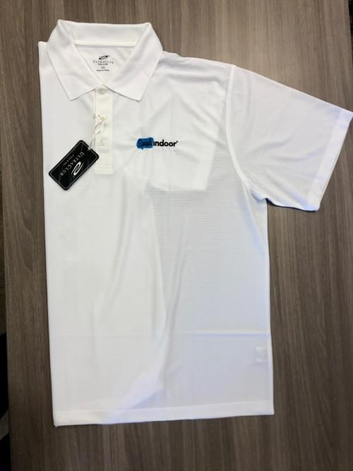 Ultra Club | Men's White Polo (SALE!)