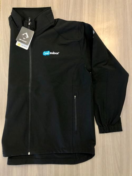 DRI DUCK | Black Full Zip Jacket