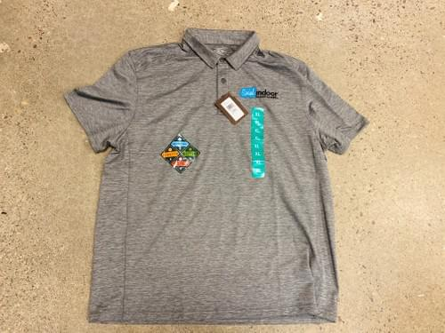 G.H. BASS & CO | Men's Grey Polo (NEW IN STOCK - XL ONLY)
