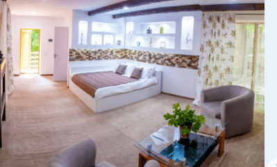 Căsuță cu un dormitor și living