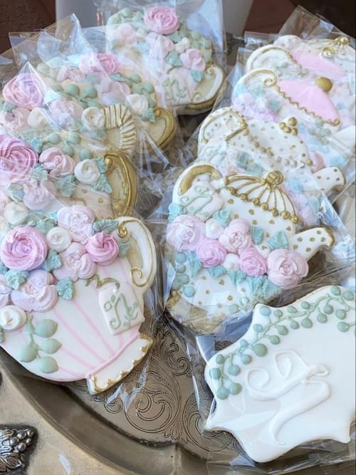 Gorgeous 4 inch Tea Cookies