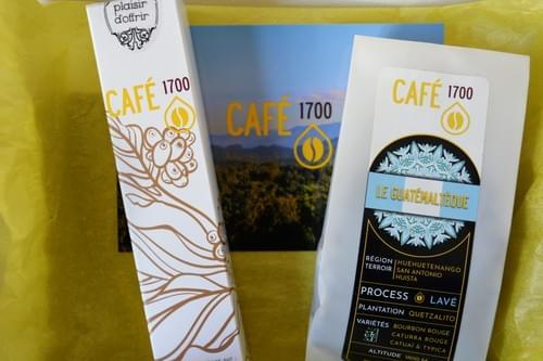 Boîte Café et chocolats