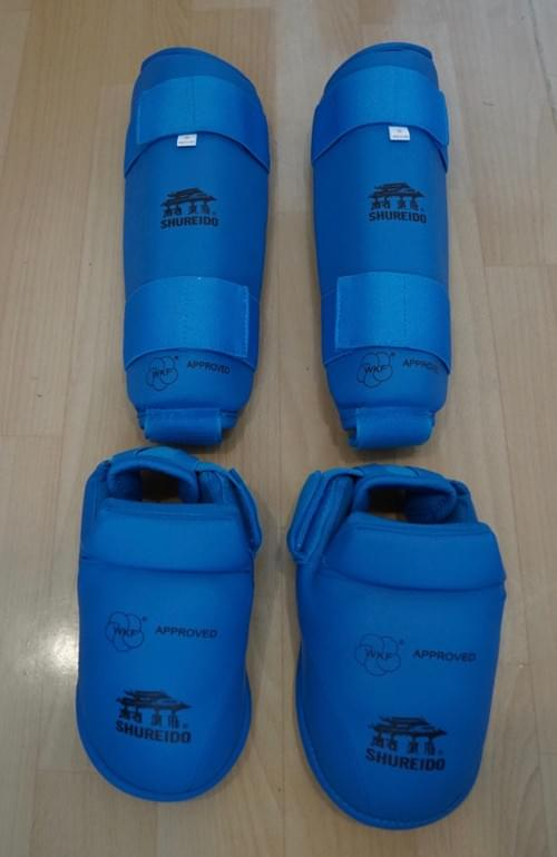 腳脛 (藍色) (WKF Kumite比賽專用)