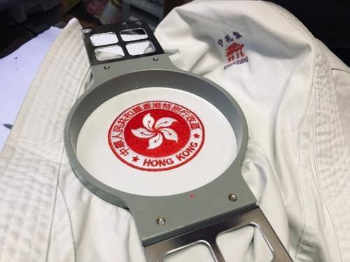 刺繡香港區徽(圓形)