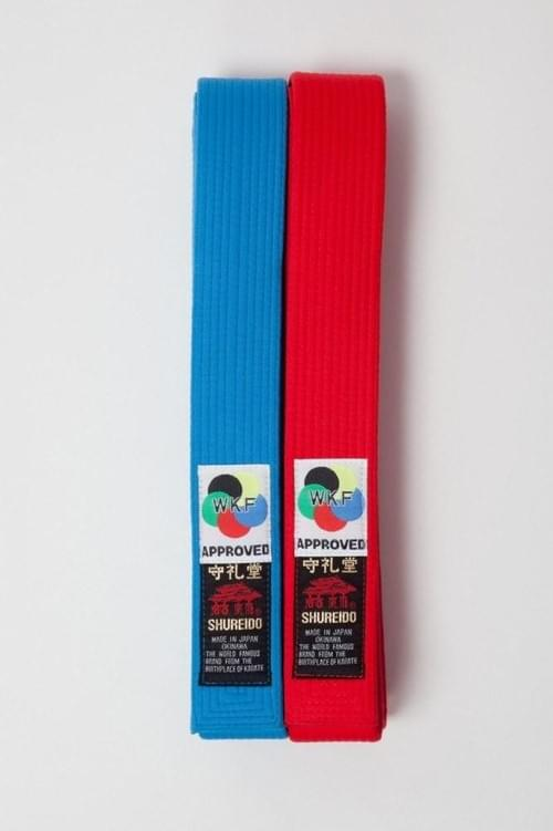 厚帶 (藍色) (WKF Kata比賽專用)