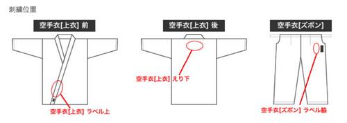 刺繡字體 (普通色/金銀色)