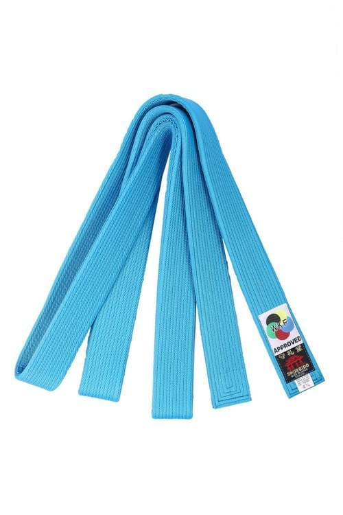 中厚帶 (藍色) (WKF Kumite比賽專用)