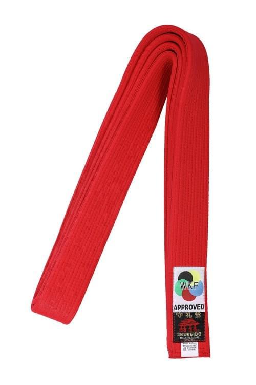 中厚帶 (紅色) (WKF Kumite比賽專用)