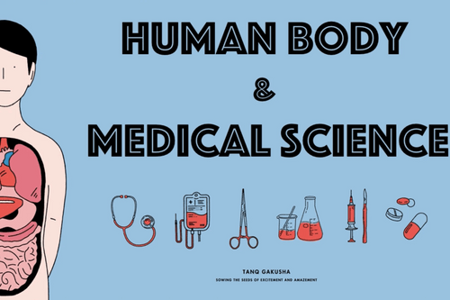 NEW! Learning Experience! Doctor your body! Human Body & Medical Science